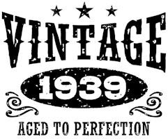 Vintage 1939 t-shirts
