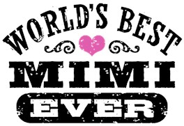 World's Best Mimi Ever t-shirts