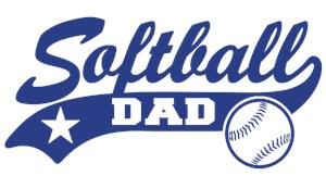 Softball Dad t-shirts