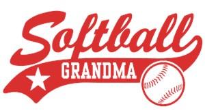 Softball Grandma t-shirts