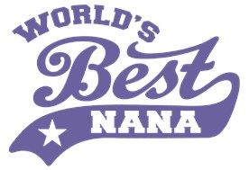 World's Best Nana t-shirts