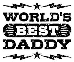 World's Best Daddy t-shirts