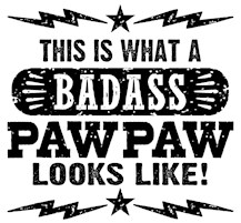 Badass PawPaw t-shirts