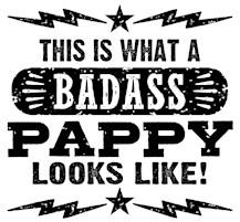 Badass Pappy t-shirts