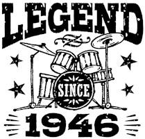 Legend Since 1946 t-shirts