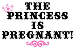 Pregnant Princess t-shirt