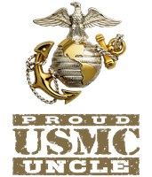 Proud USMC Uncle t-shirts