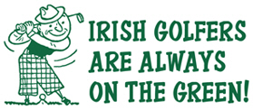 Irish Golfers t-shirts