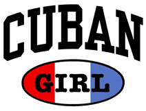 Cuban Girl t-shirts