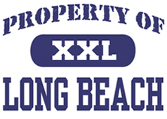 Property of Long Beach t-shirt