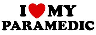 I Love My Paramedic t-shirt