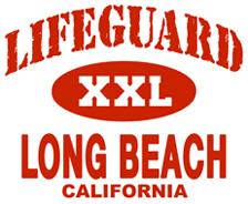 Lifeguard Long Beach t-shirts