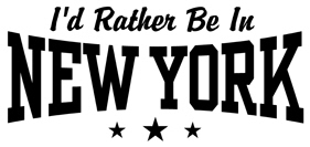 I'd Rather Be In New York t-shirt