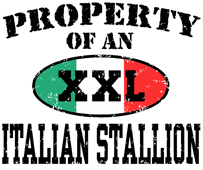 Property of an Italian Stallion t-shirt