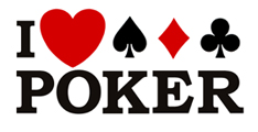 I Love Poker t-shirts