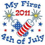 My First 4th of July 2011 t-shirt