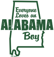 Everyone Loves an Alabama Boy t-shirt