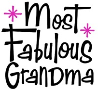 Most Fabulous Grandma t-shirt