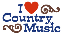 I Love Country Music t-shirts