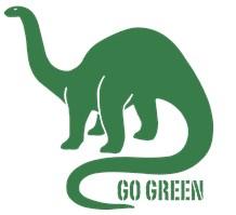 Go Green Dinosaur
