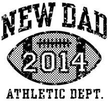 New Dad Football 2014 t-shirts