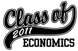 Class of 2011 Economics t-shirts