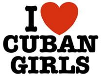 I Love Cuban Girls t-shirts