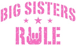 Big Sisters Rule t-shirts