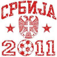 Serbia Soccer 2011 t-shirt