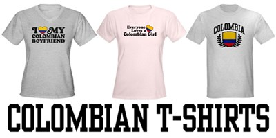 Colombian t-shirts
