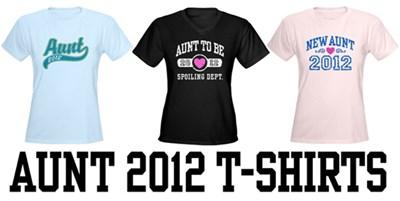 Aunt 2012 t-shirts