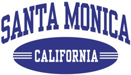 Santa Monica California t-shirts