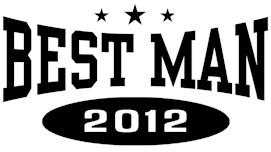 Best Man 2012 t-shirts