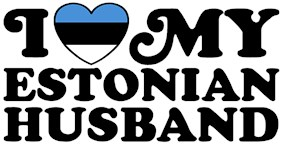 I Love My Estonian Husband t-shirt