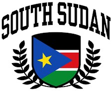 South Sudan t-shirts