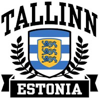 Tallinn Estonia t-shirts