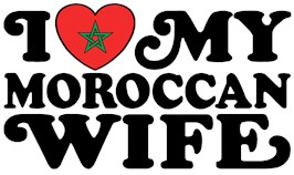 I Love My Moroccan Wife t-shirts