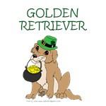 Lucky Golden Retriever