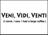 Veni, Vidi, Venti.