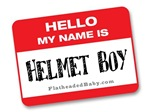 Hello My Name Is Helmet Boy