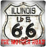 Illinois Worn Route 66