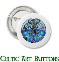 Celtic Art Buttons, Magnets and Stickers