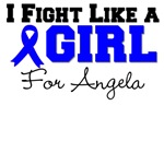 Custom Colon Cancer I Fight Like a Girl