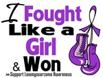 I Fought Like a Girl Leiomyosarcoma Shirts