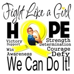 Fight We Can Do It Sarcoma Cancer Shirts