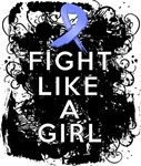 Fight Like a Girl Esophageal Cancer Grunge Shirts