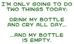 bottle cry