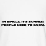 It's Summer. I'm Single.