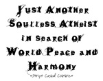Another Soulless Atheist T-Shirts and Gifts