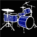 Glitter Drum Set T-Shirt